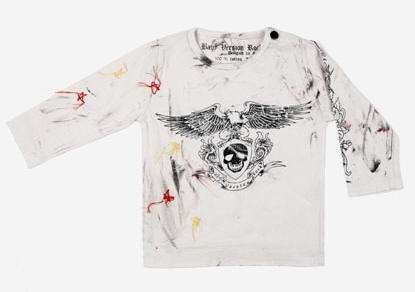 baby rockero camiseta 11