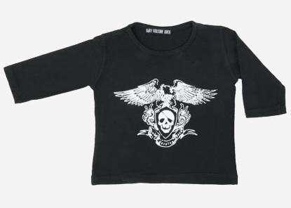 baby rockero camiseta 12
