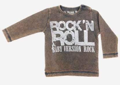 baby rockero sudadera