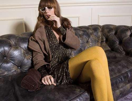liujo medias amarillas
