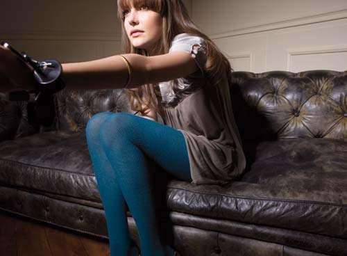 liujo medias azules