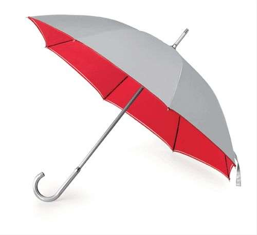 paraguas grande bicolor aluminio