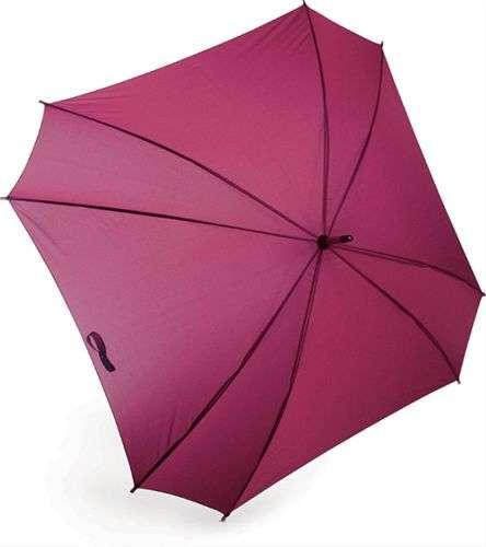 paraguas cuadrado fucsia