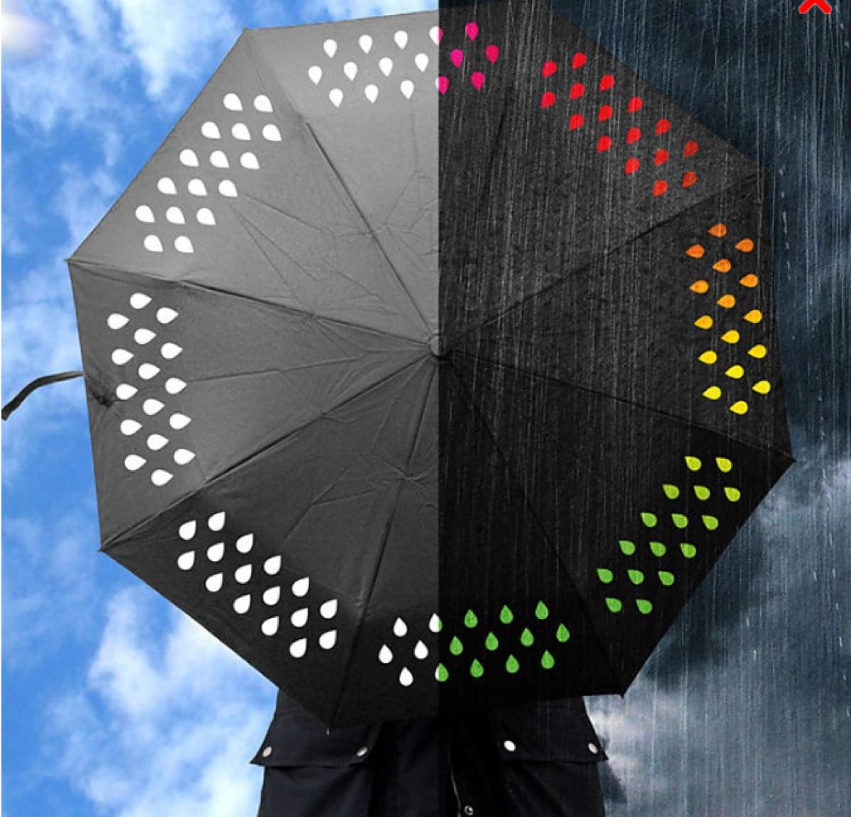 Paraguas originales para llenar de color los días grises