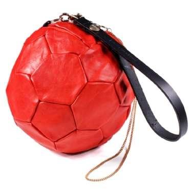 bolso balon rojo