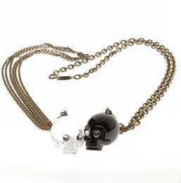 minorista online f3854 50716 Originales collares con calaveras de cristal - Estás de Moda ...