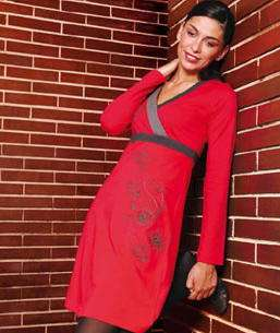surkana vestido rojo