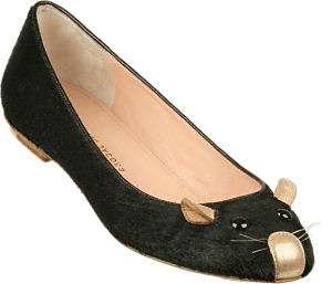 bailarinas raton marc jacobs negro