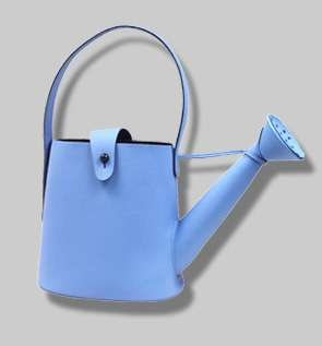 bolso regadera azul