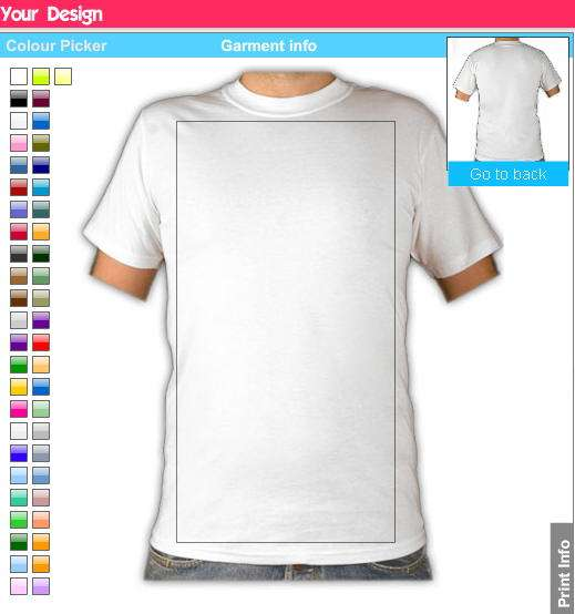 Diseña tus propias camisetas personalizadas - Estás de Moda  Revista ... f088914545409