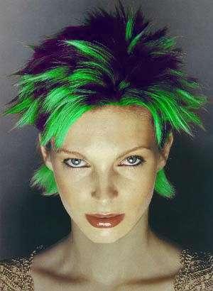 gel fluorescente verde