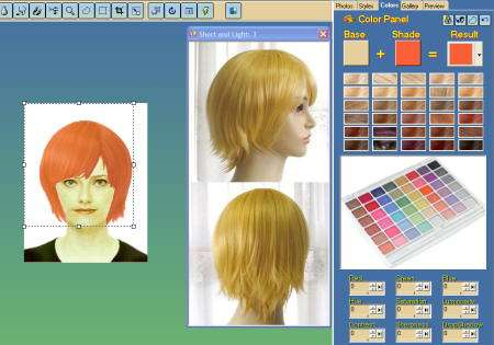 hair pro 2008 colores