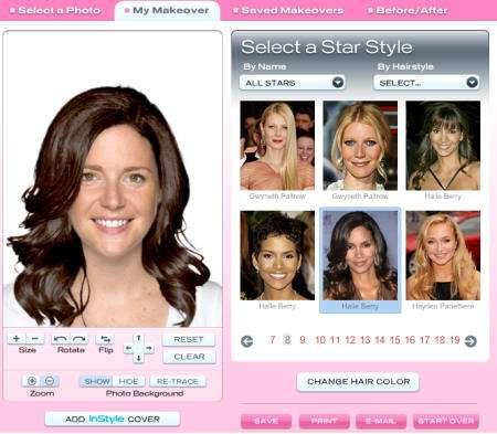 pruebate los peinados de las famosas en in style