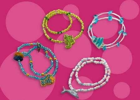 pulseras fantasia armonia para niñas