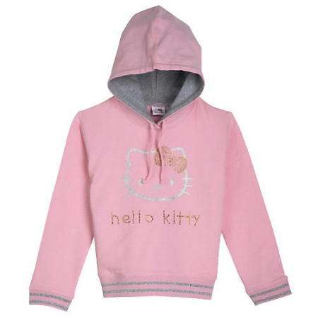 sudadera rosa hello kitty