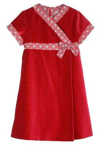 vestido cruzado tizzas
