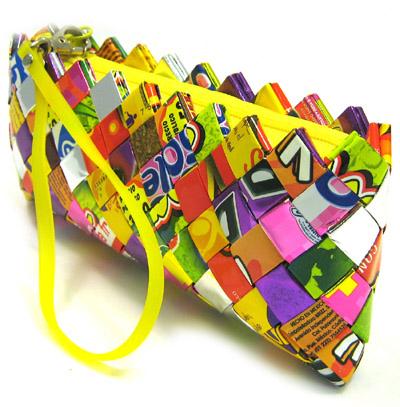 bolso reciclado colores