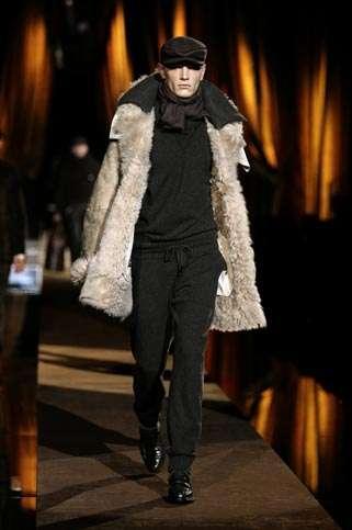 dolce and gabbana hombre 2009 abrigo