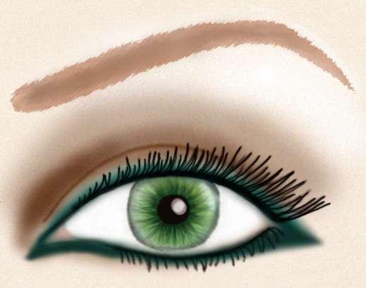 Trucos para pintar bien la raya del ojo | Mas de Moda