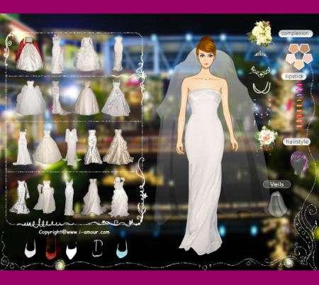Vestidos de novia para jugar