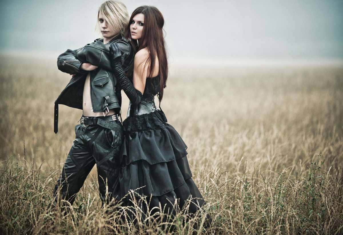 moda siniestra / moda gotica