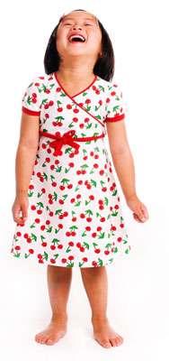 rock your baby vestido cerezas