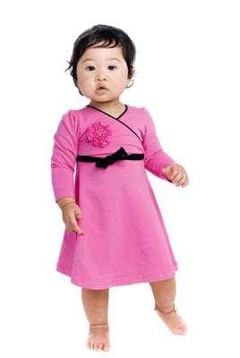 rock your baby vestido rosa