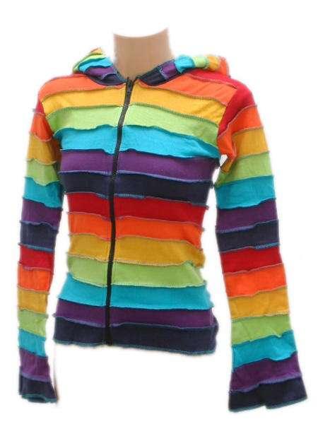 sudadera rayas multicolor robapinzas zas