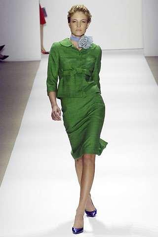 tuleh primavera 2008 vestido verde