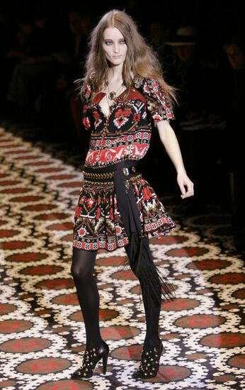 gucci hippy en la semana de la moda de milan