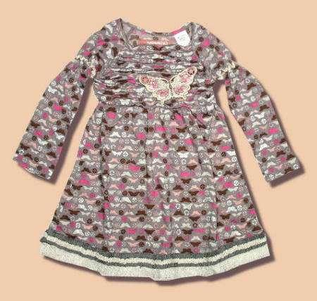 Vestidos primaverales para niña (I) | Mas de Moda