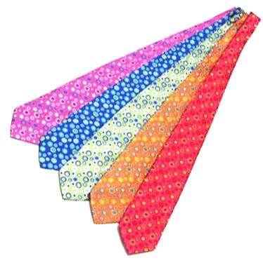 corbatas flores agatha