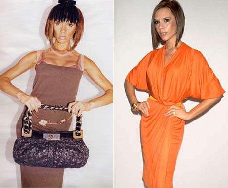 Looks de famosos Victoria Beckham