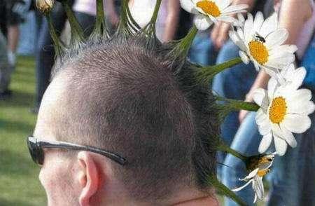 peinado friki margaritas