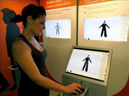 probador virtual escaner humano