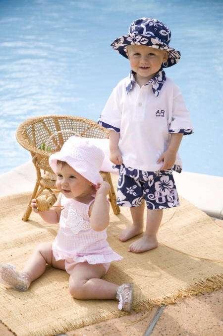 protege niños sol gorro archimede