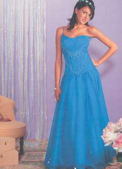 vestido 15 azul eva novias