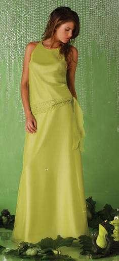 vestido quince verde antonella vega
