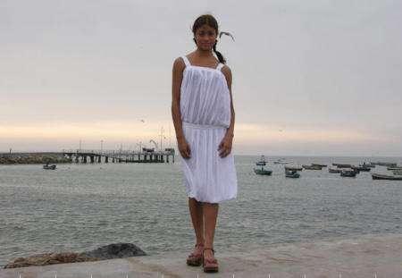 vestido blanco misericordia peru