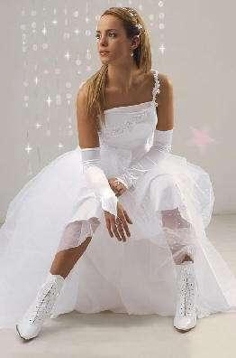 vestido quince combinado con botas