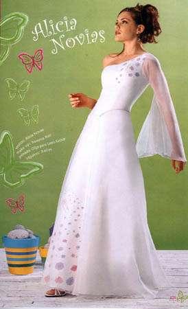 alicia novias blanco