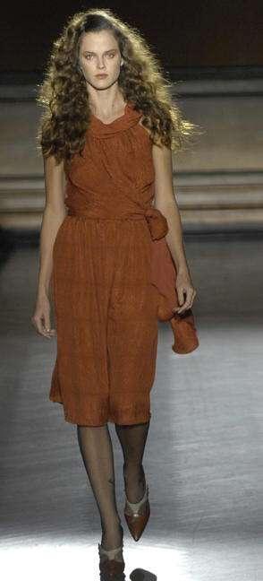 costello tagliapietra vestido marron