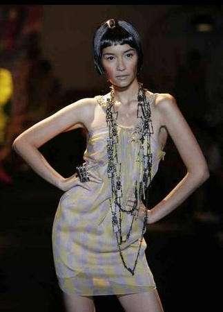lo mas exotico de la semana de la moda de bangkok