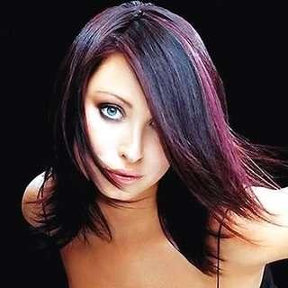 peinado bicolor