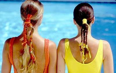 peinados verano amarillo naranja