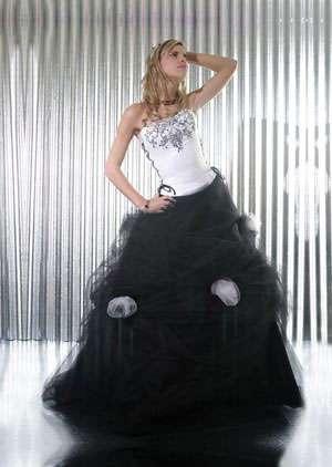 vestido 15 negro ana beatriz soto