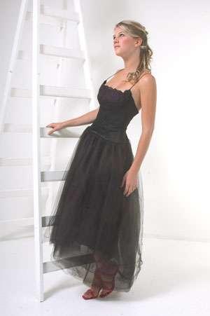 vestido 15 negro ceresa