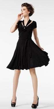 vestido negro pauleka verano