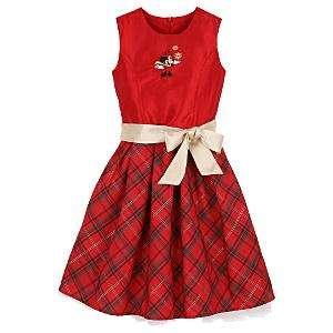 vestido rojo fiesta minnie