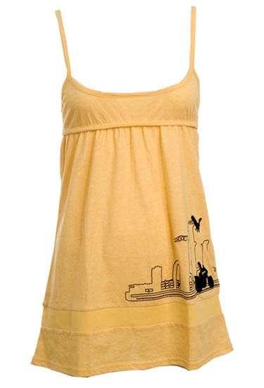 camiseta freesite amarillo